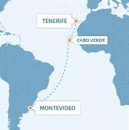Atlantic Sailing Crossing - Tenerife to Montevideo_TO010