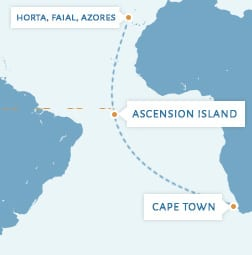 Ocean Voyage Cape Town to the Azores
