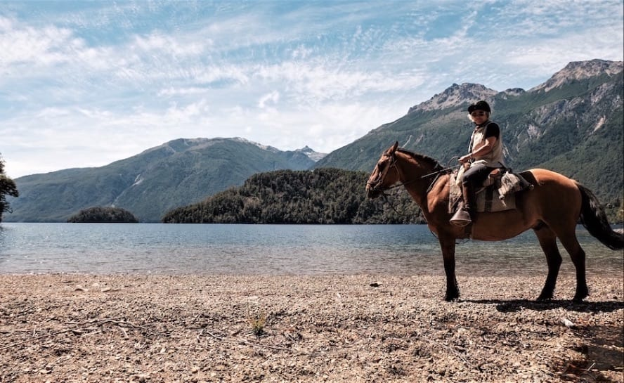 Patagonia horse riding_andean crossing_VEN89_Lago Azul._1JPG