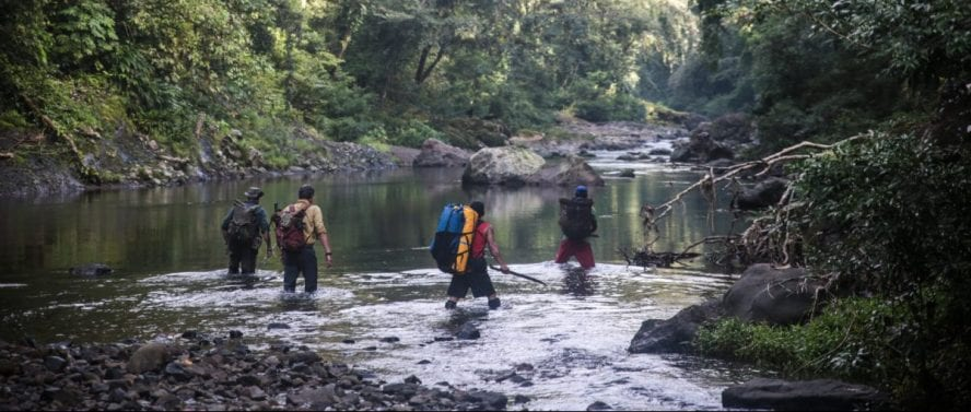 Simon Buxton Darien Gap Panama jungle adventure 2016