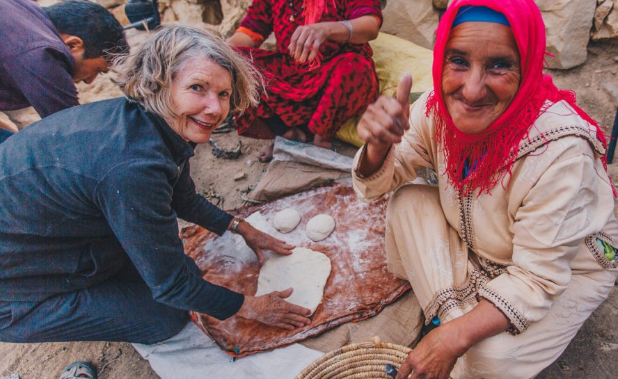 Walking with the Berber Nomads in Morocco