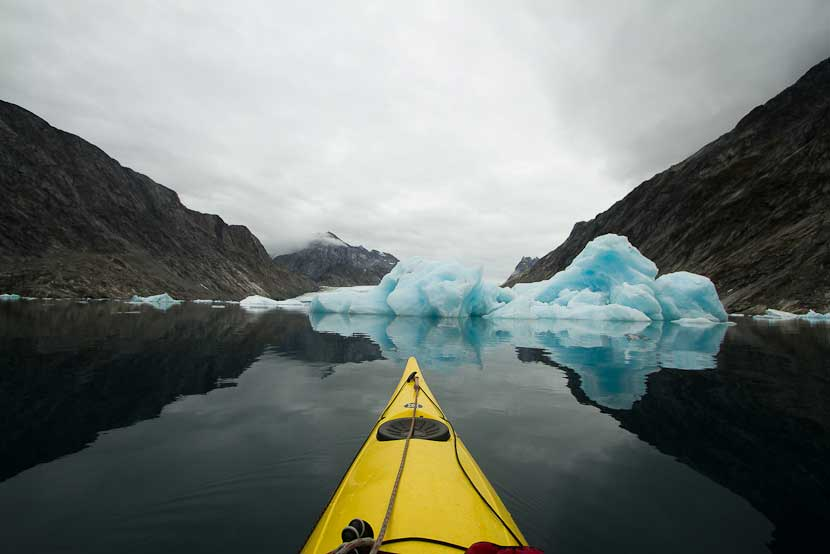 icefjord_kayaking_sail East Greenland