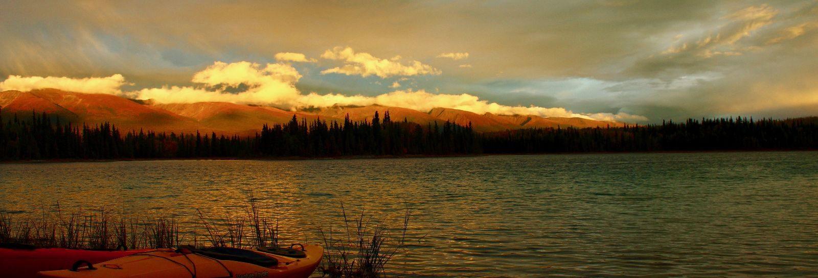 Overland trip through Western Canada and Alaska