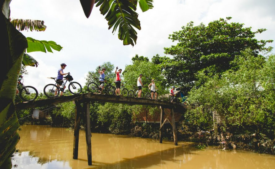 Thailand cycling group