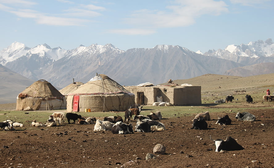 Trek-Wakhan-yurts