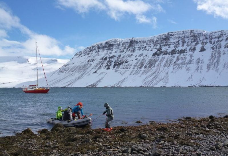 Iceland Backcountry ski and sailboat adventure