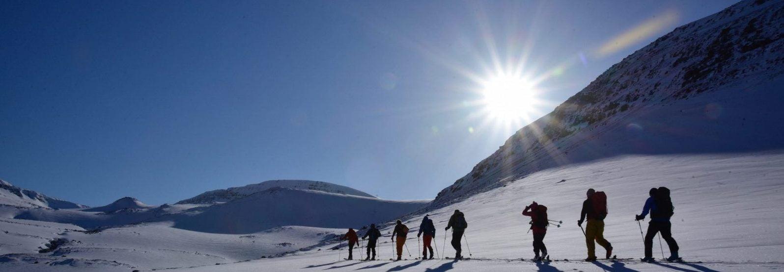 Iceland Backcountry ski
