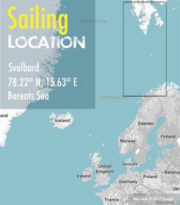 spitsbergen tromso area map