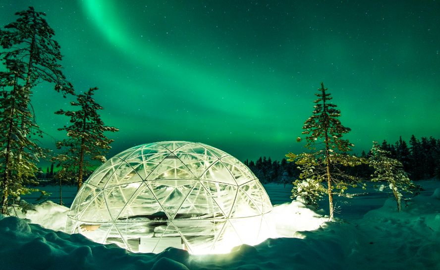 Northern Lights Winter Experiences Sweden Adventure Holiday (4)