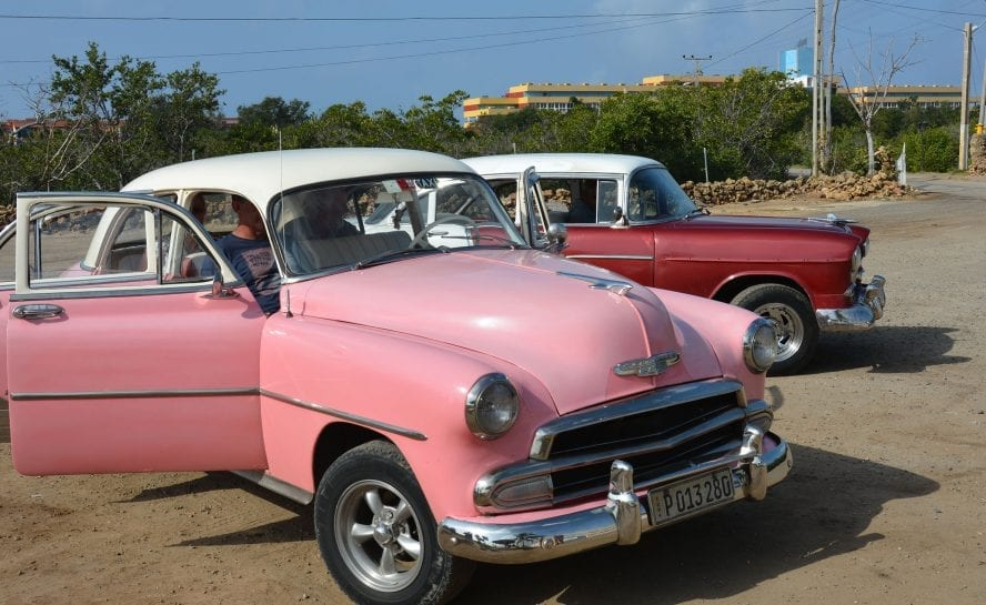 Cuban cars awa