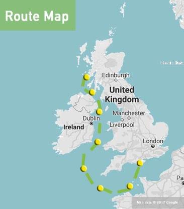 england to scotland pmmc route map