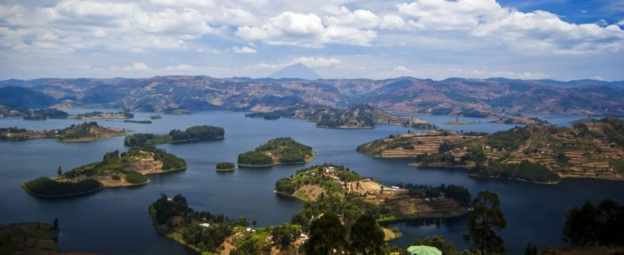 Overview of Lake Bunyonyi, Kabale