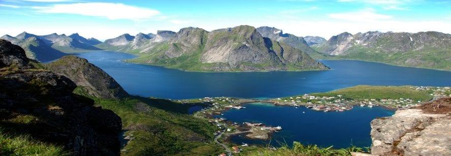 Lofotens mountains
