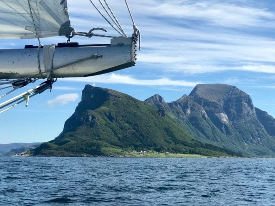 adventure sailing voyage to the Wild Islands
