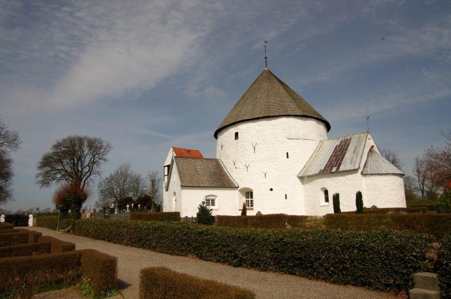 Round church on Bornholm