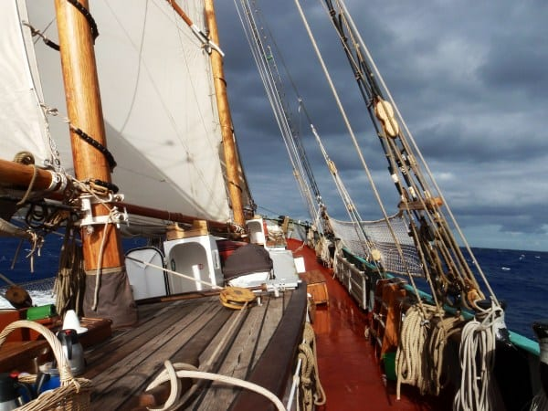 Adventure sailing from Cape Town to the Azores