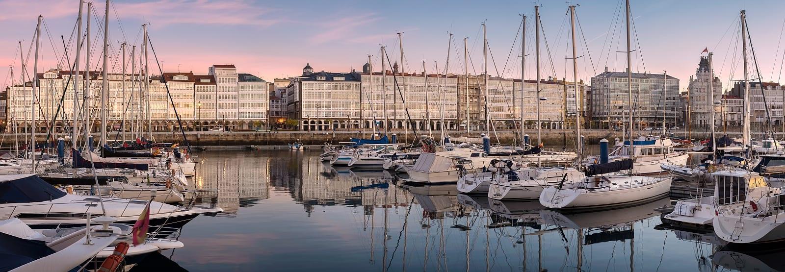 Sail Spain to Madeira - Coruna