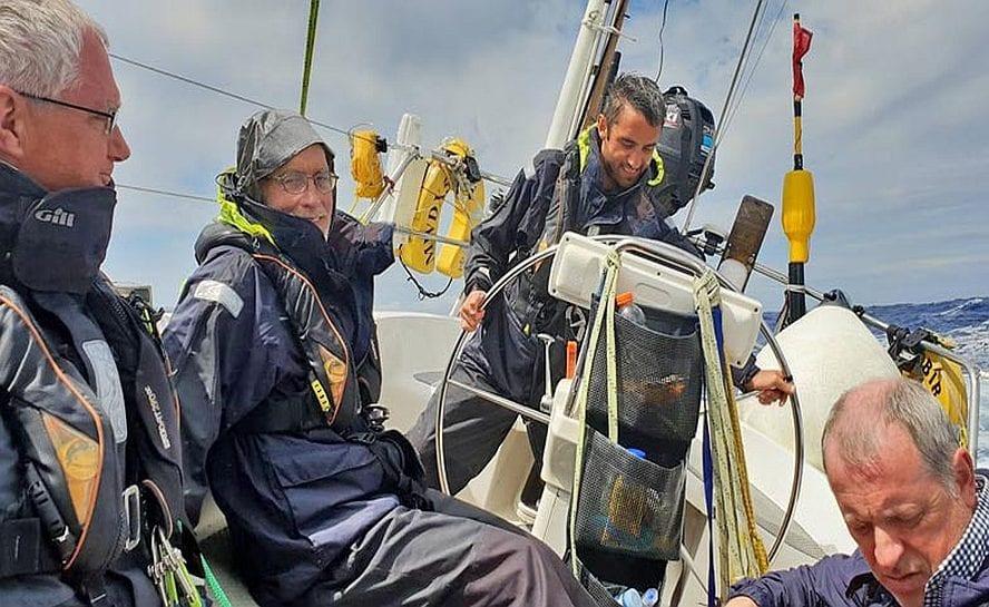 Ocean sailing madeira to azores 6