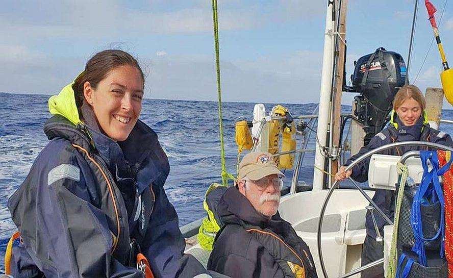 Ocean sailing madeira to azores 7