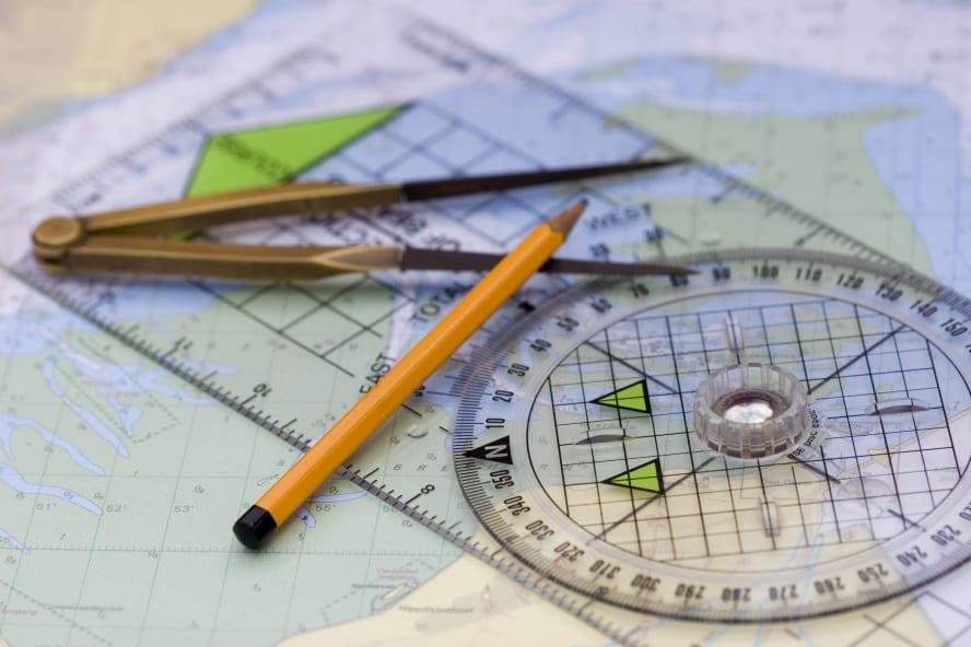breton plotter and chart