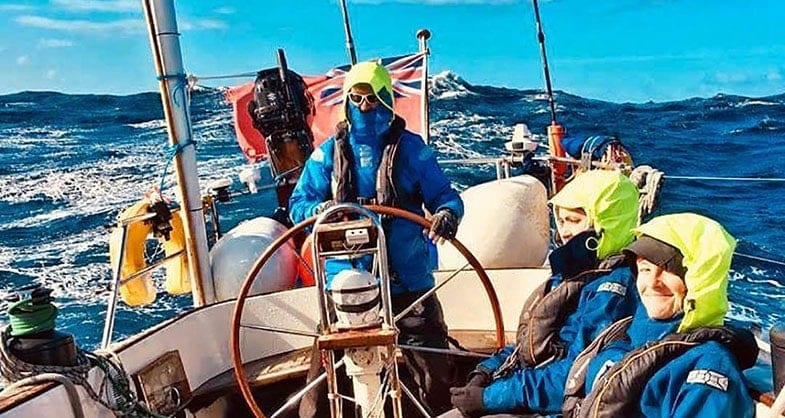 Sail England France Spain RYA Skipper Yachtmaster Sailing Voyage Training Another World Adventures (1)