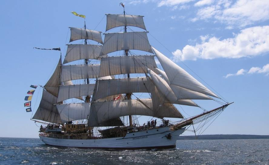 Sail Around the World As Crew on a Square Rigger