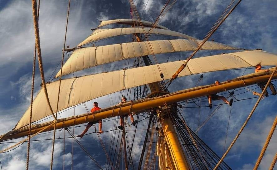 Sail Around he World As Crew on a Square Rigger