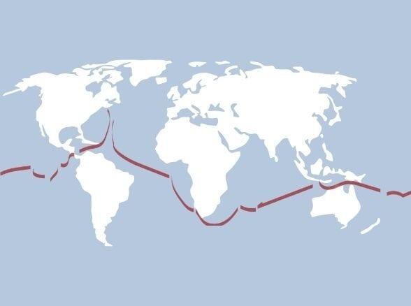 World Voyage Map