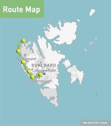 Adventure Sailing Holiday The West Coast of Svalbard