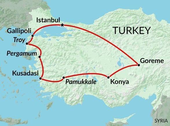best-turkey-map